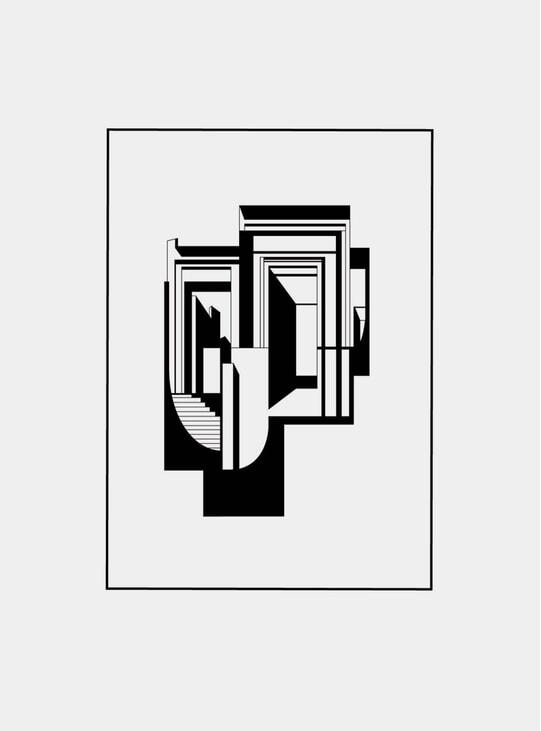 Utzon House LTD Edition Print