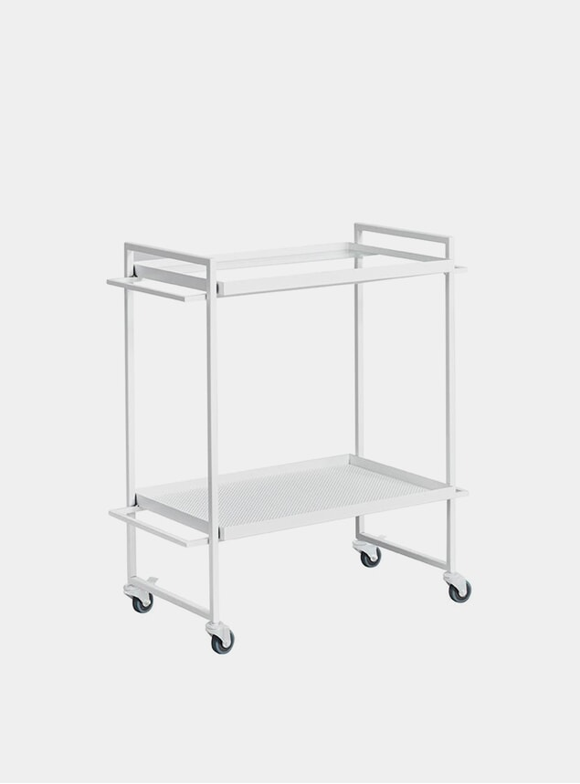 White Bauhaus Bar Trolley