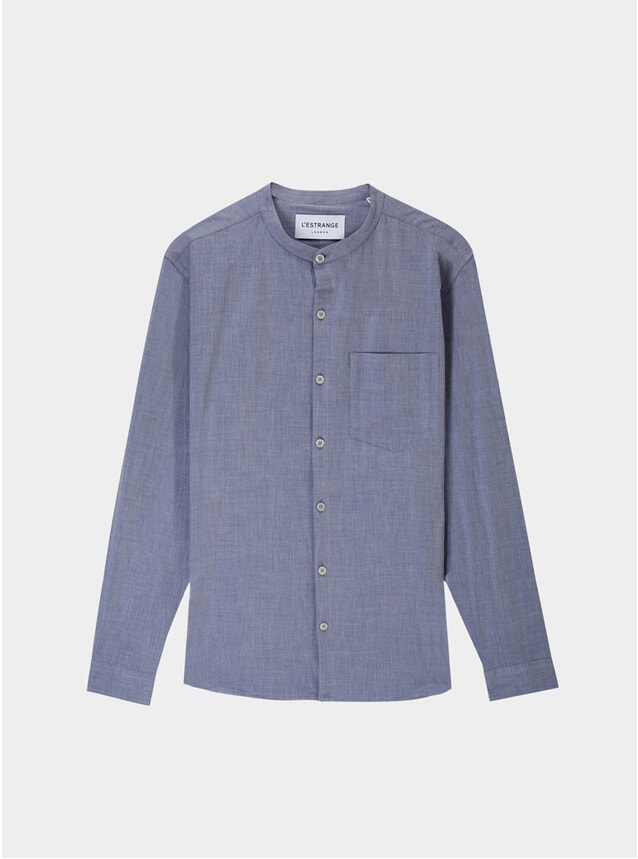 Navy Chambray All Day Shirt