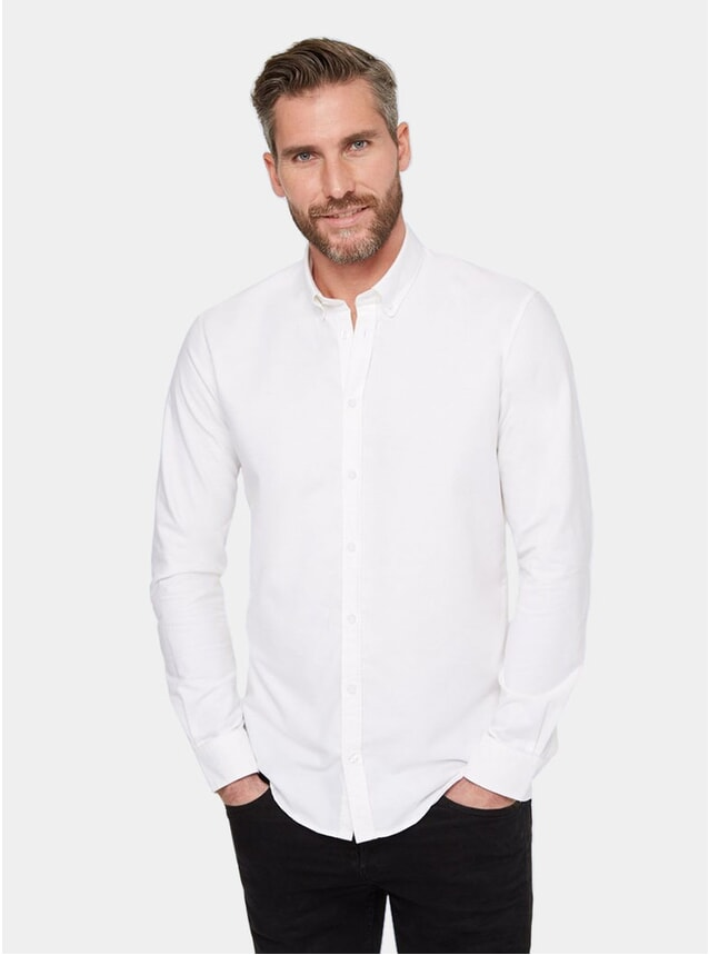 Off White Casual Shirt
