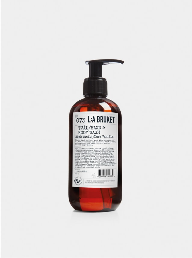 Dark Vanilla Hand & Body Wash 250ml