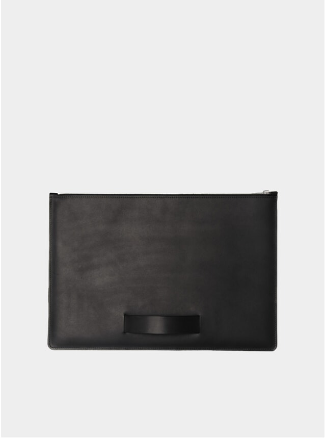 "Black Hand Strap Large 15"" Laptop Sleeve"