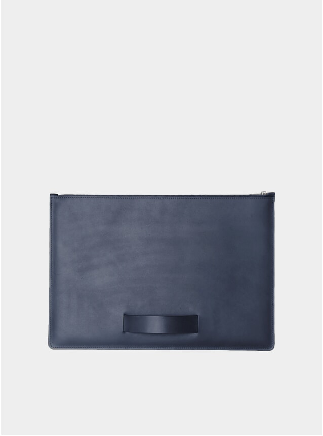 "Night Blue Hand Strap Large 15"" Laptop Sleeve"