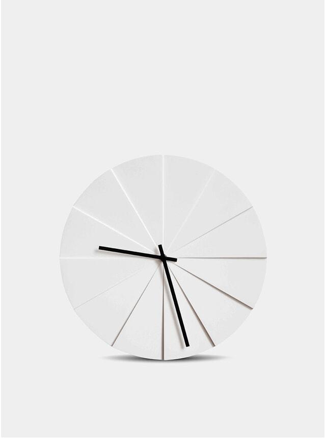 Scope White Clock