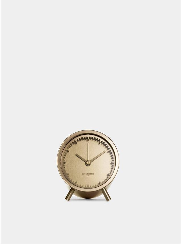 Brass Amsterdam Tube Clock