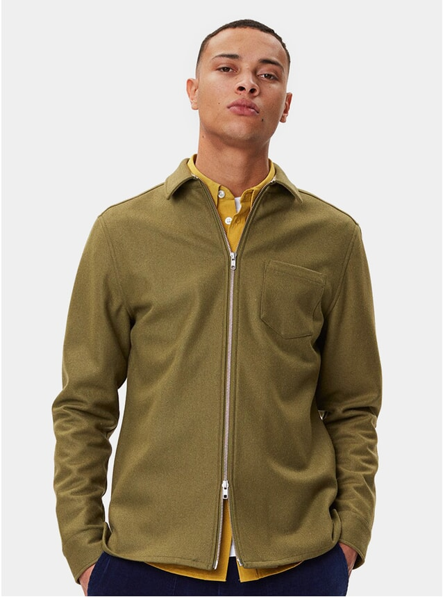 Army Green Cardiff Shirt