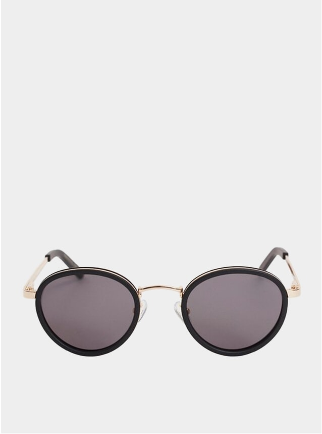 Black / Gold Macau Sunglasses