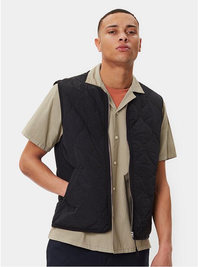 Black Hobson Vest