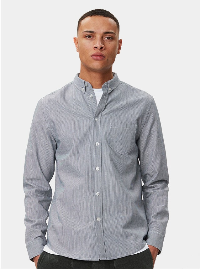 Blue Stripe Lagos Shirt