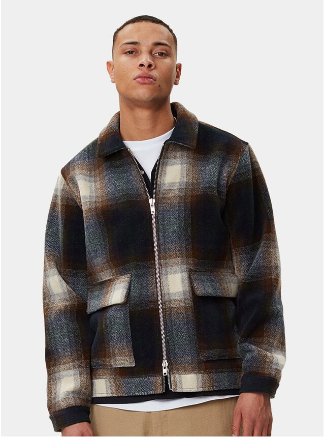 Brown Check Ortega Jacket