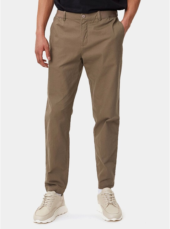 Dark Khaki Century Trousers