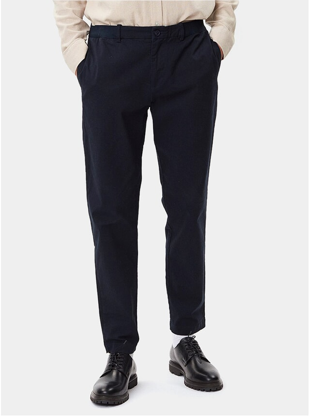 Dark Navy Century Trousers