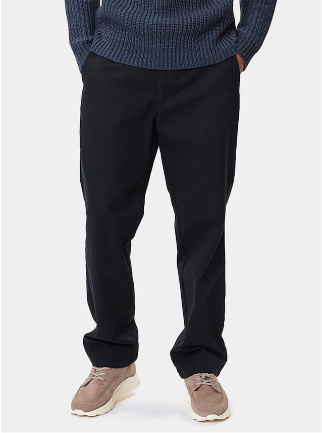 Dark Navy Maverick Trousers