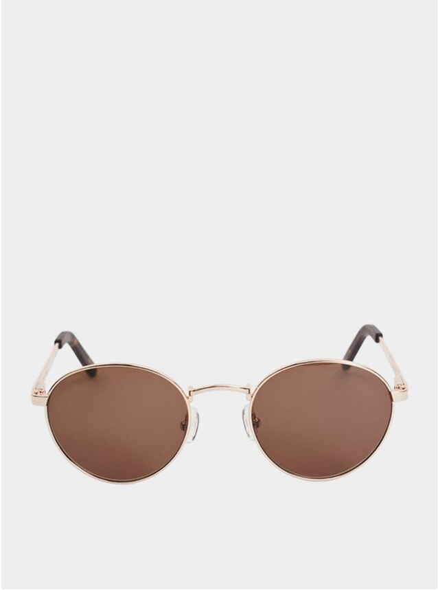 Gold Metal Aruba Sunglasses
