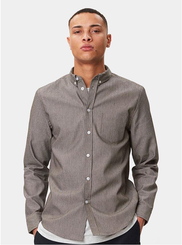 Khaki Stripe Lagos Shirt