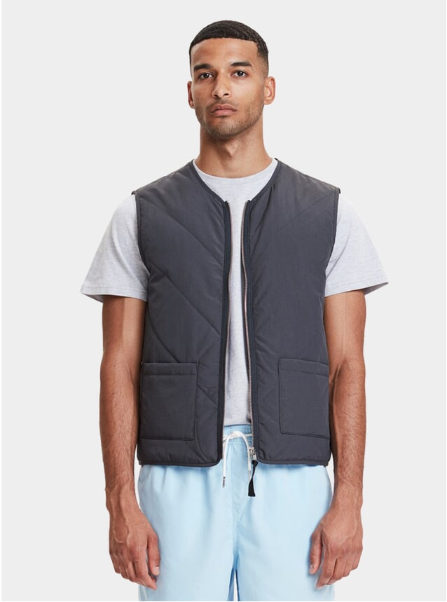 Navy Hobson Vest