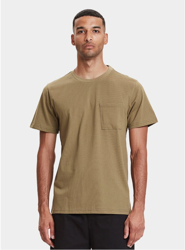 Olive Faro Pocket T Shirt