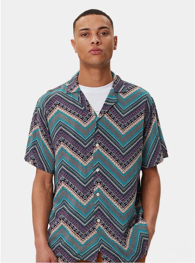 Oriental Turquoise Clark Shirt