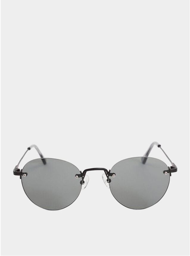Rimless Black Medellin Sunglasses