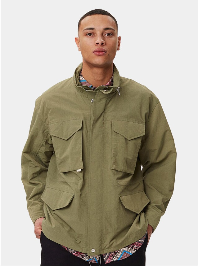 Sage Green Avalon Utility Jacket
