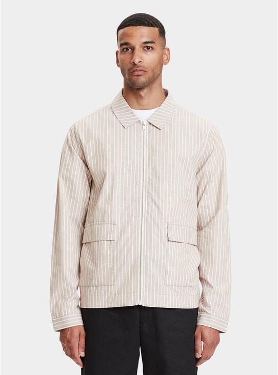 Sand Striped Ortega Jacket