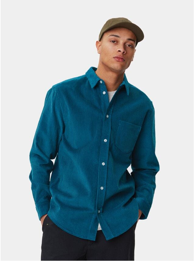 Blue Corduroy Odessa Shirt