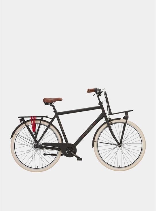 Matte Black Jordaan Nexus 7 Speed Bike