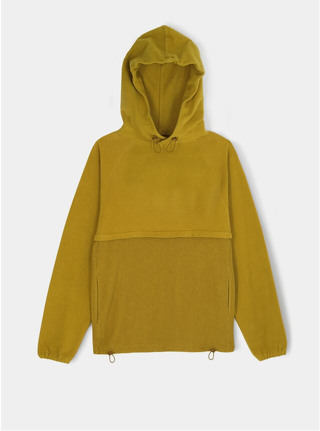 Mustard Le Ribless Hoodie