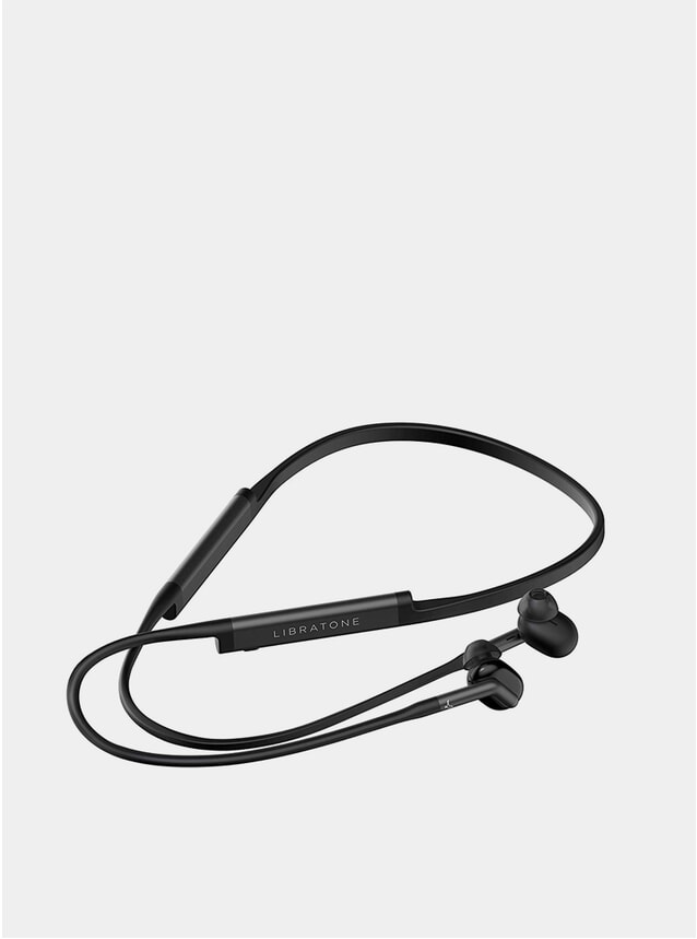 Black Track+ Wireless Earphones