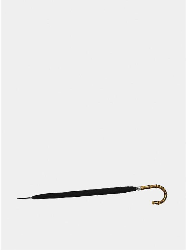 Black Bamboo Slim Umbrella