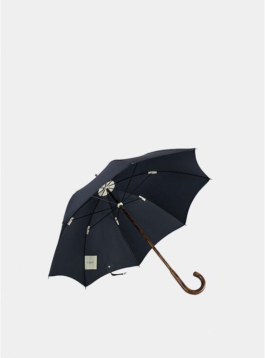 Black Oak Wood Umbrella