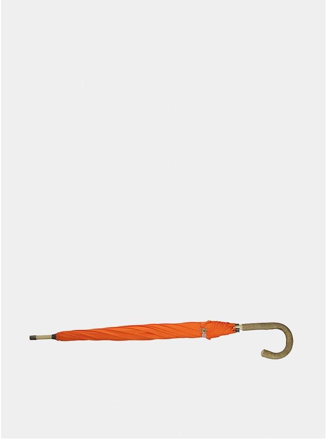 Orange Solid Ash Wood Umbrella