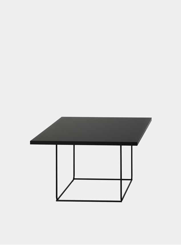 Black DL3 Umbra Square Side Table