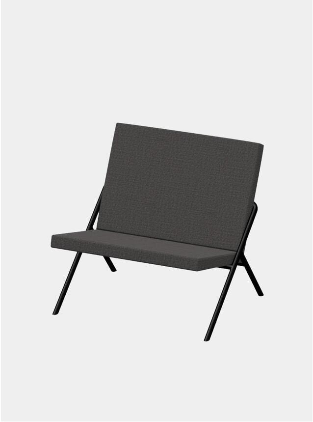 Charcoal DL2 Euclides Lounge Chair