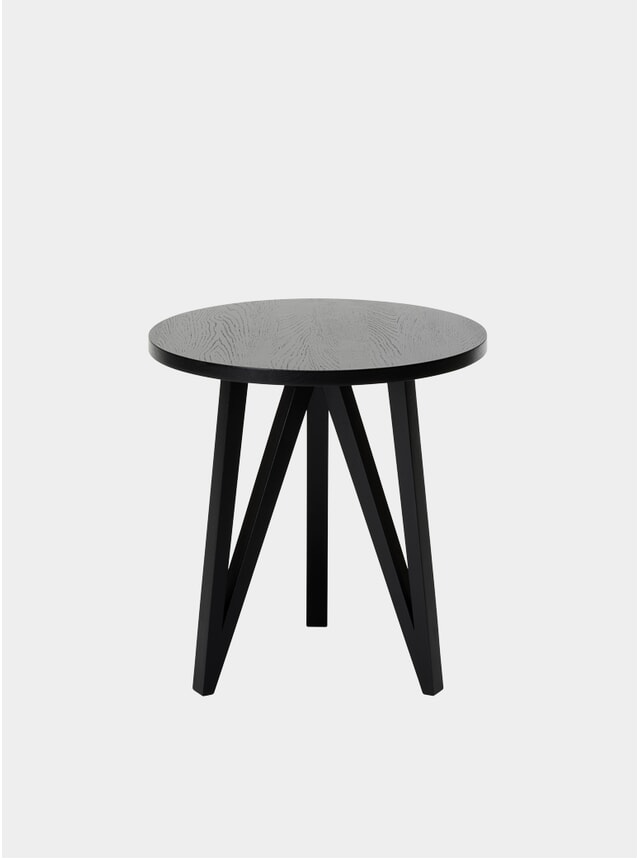 Jet Black JL2 Faber Side Table