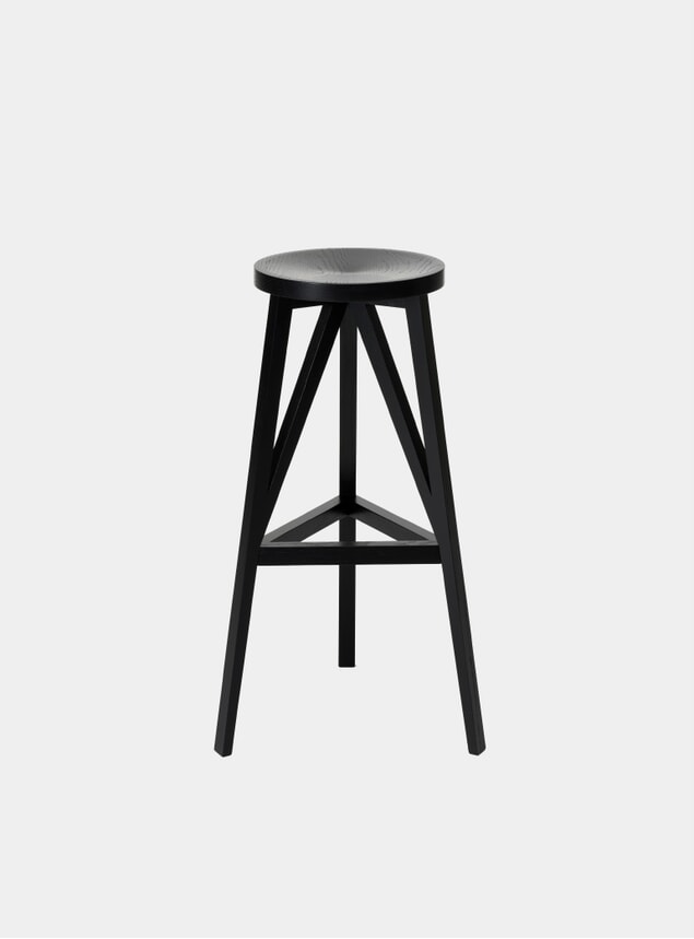 Black JL4 Faber Bar Stool