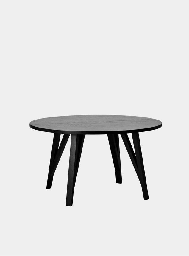 Black JL6 Sabeth Dining Table