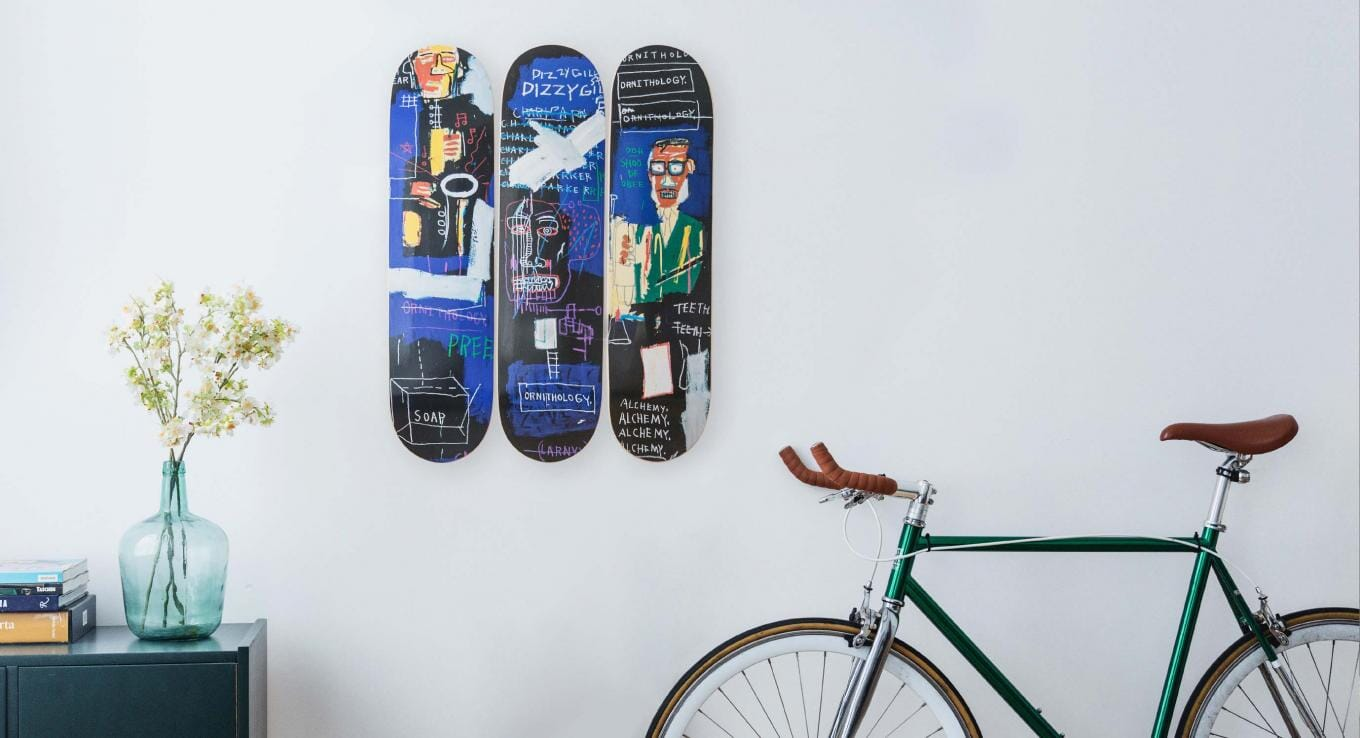 How To Install Skateboard Design Wall