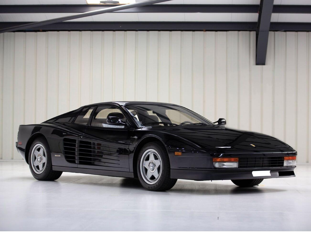 1988 Ferrari Testarossa Finding nero