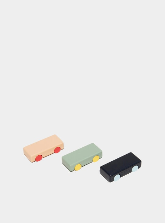Solid Cars Mini 3 Pack