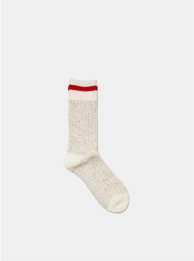 Beige Heritage Socks