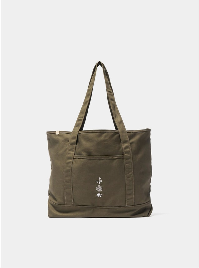 Olive Grocery Tote Bag