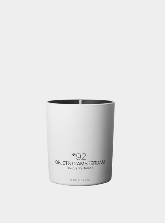 No.92 Objets d'Amsterdam Luxurious Scented Candle