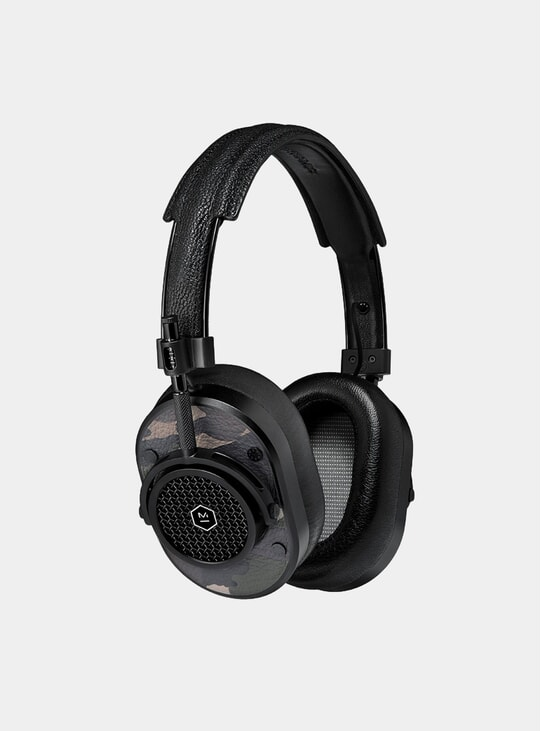 Black / Camo Leather MH40 Headphones
