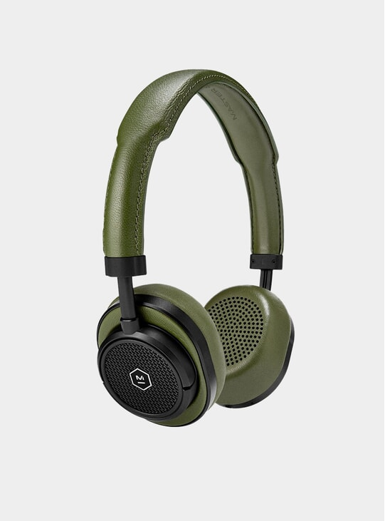 Black Metal / Olive MW50 Wireless Headphones