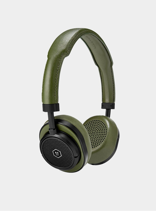 Black Metal / Olive MW50 Wireless Headphones