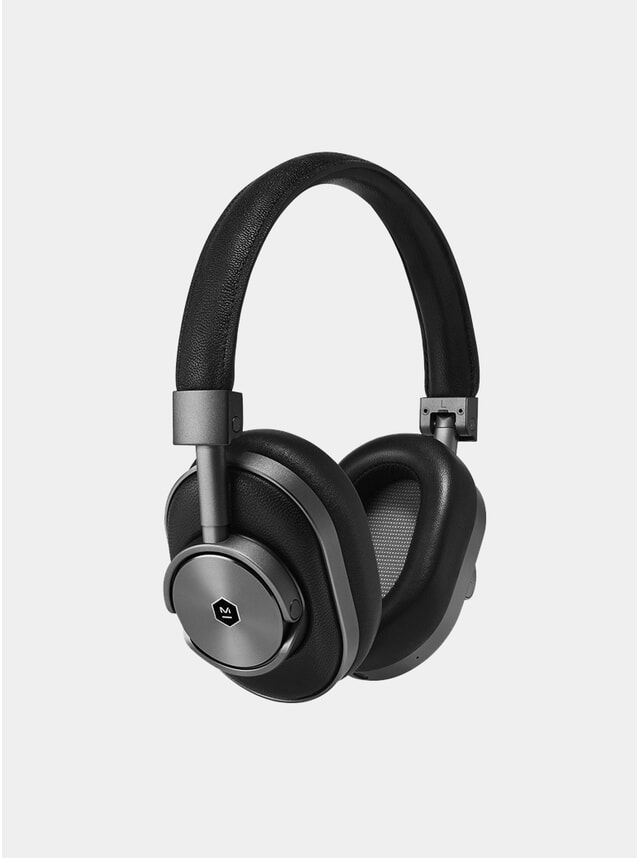 Gunmetal / Black  MW60 Wireless Headphones
