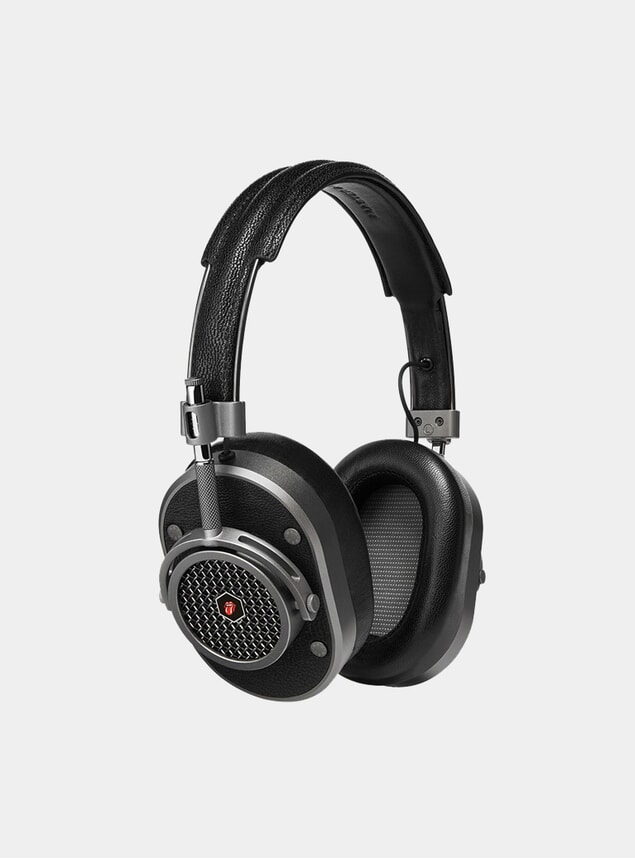 Gunmetal The Rolling Stones MH40 Headphones