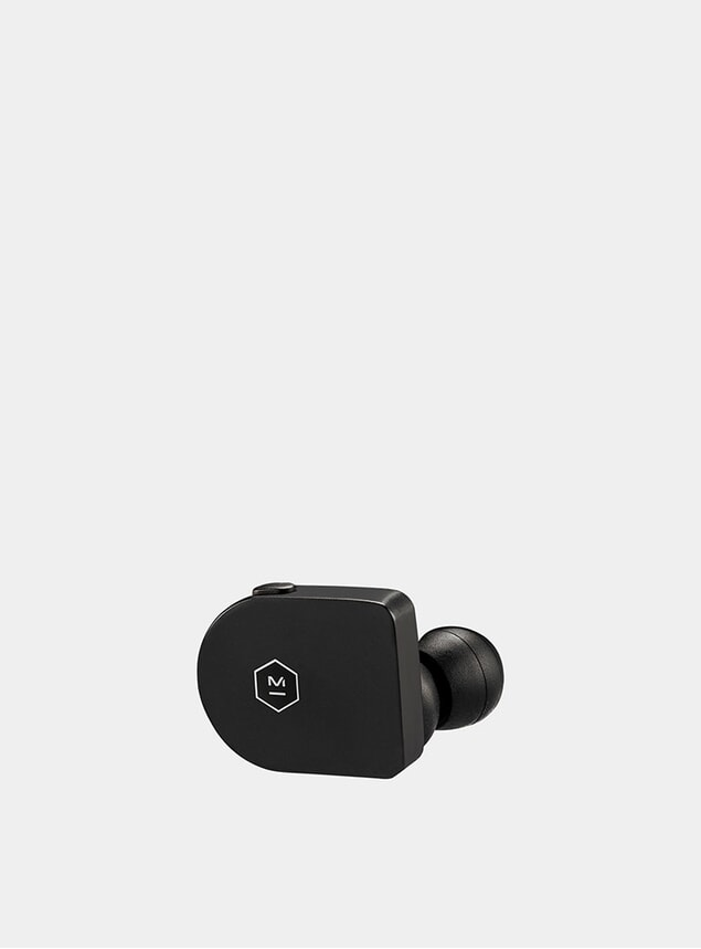 Matte Black Acetate Wireless MW07 Earphones