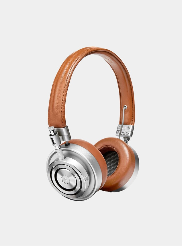 Silver / Brown MH30 Headphones